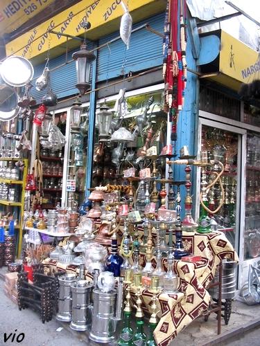 Boutique à l'extérieur du grand bazar