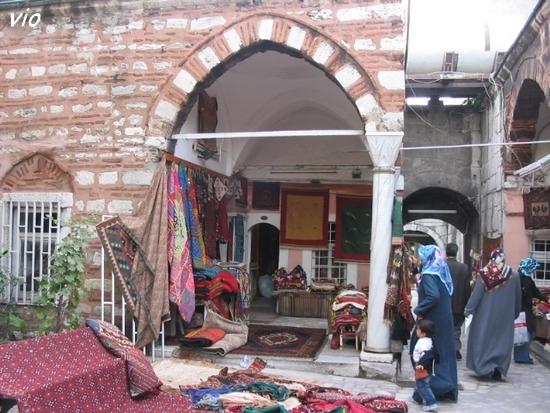 Marché de kilims et tapis