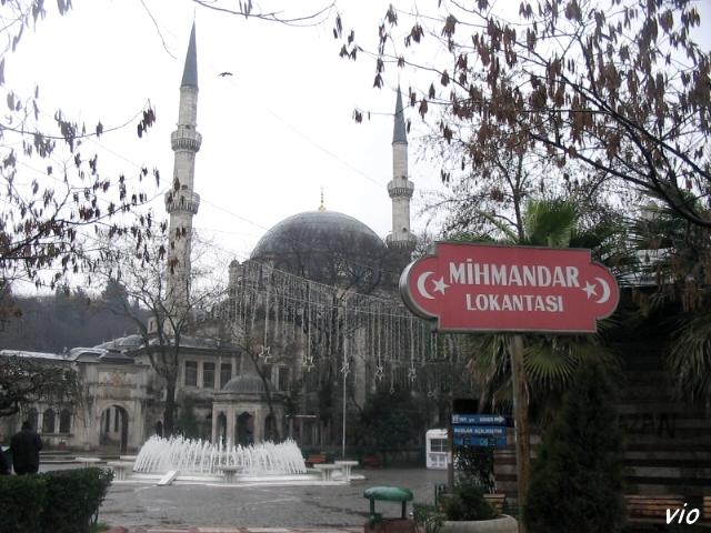 Esplanade de la mosquée d'Eyüp