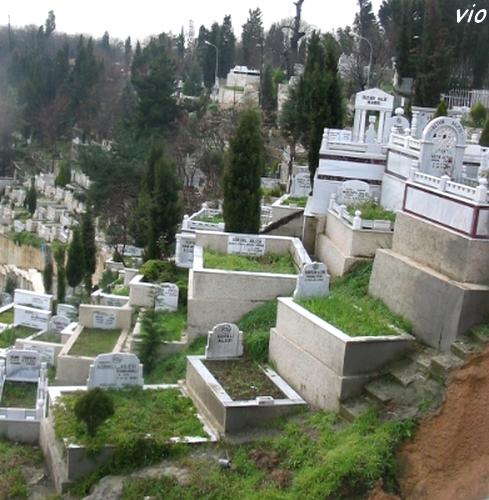 Le cimetière musulman à Eyüp