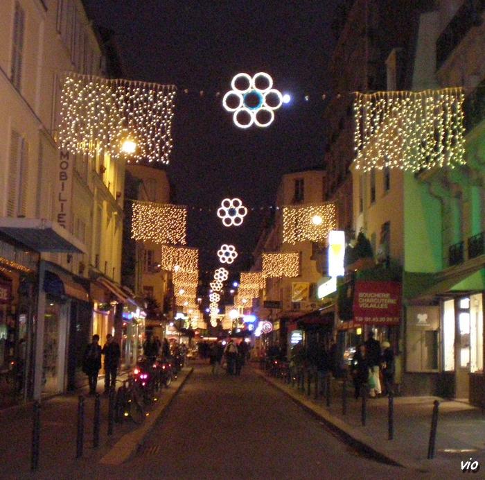 Rue Daguerre - Décembre 2008