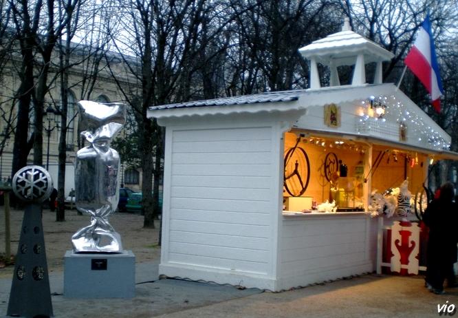 L'art est également à l'honneur sur les Champs Elysées