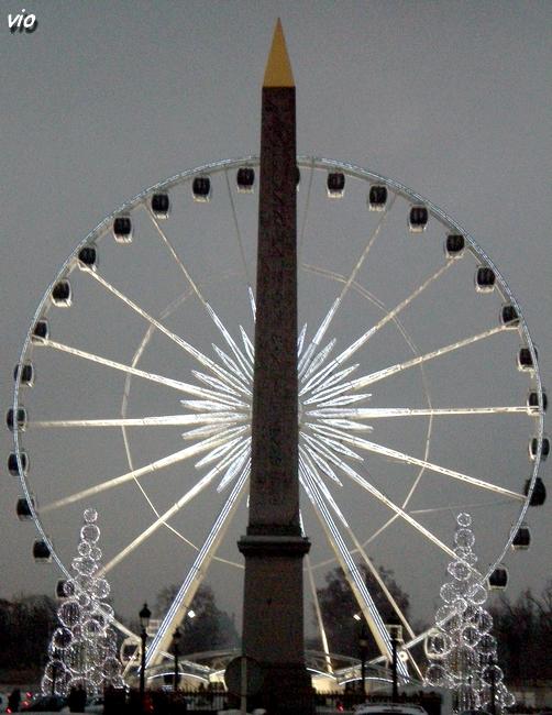 La grande roue place de La Concorde