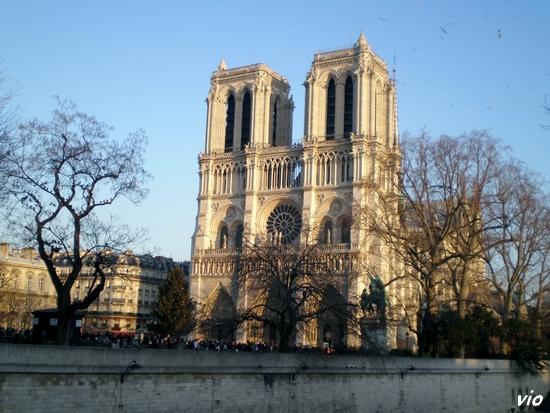 L'ile de la Cité et Notre Dame de Paris