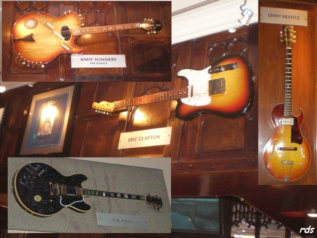 Les guitares mythiques des plus grands musiciens de Rock !