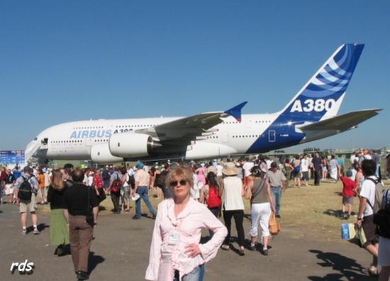 Salon Du Bourget Boeing Et Airbus Au Coude à