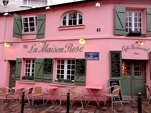 Le montmartre de la belle poque rue du s jour pour les passionn s de voyages - Eugenie les bains la maison rose ...