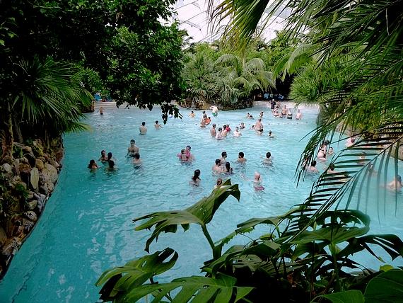 Center parcs en sologne l aqua mondo rue du s jour for Piscine center parc sologne