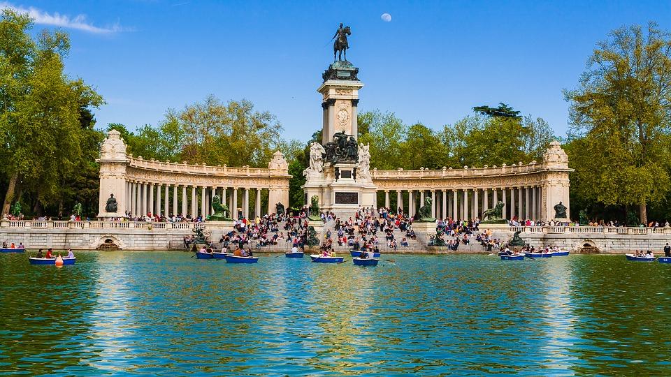 Le parc Retiro, idéal pour chiller