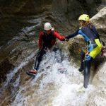 Canyoning : la clue de Maglia